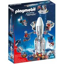 Playmobil 6195 - Космічна ракета з базовою станцією - ігровий набір Плеймобіл City Action