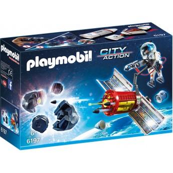 Playmobil 6197 - Супутниковий метеоритний лазер - ігровий набір Плеймобіл City Action