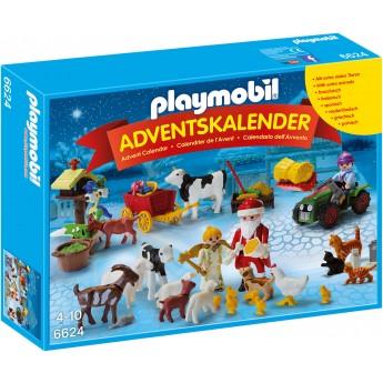 Playmobil 6624 Рождество на ферме - игровой набор Плеймобил