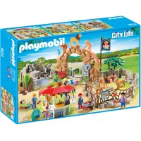 Playmobil 6634 - Большой зоопарк - конструктор Плеймобил City Life