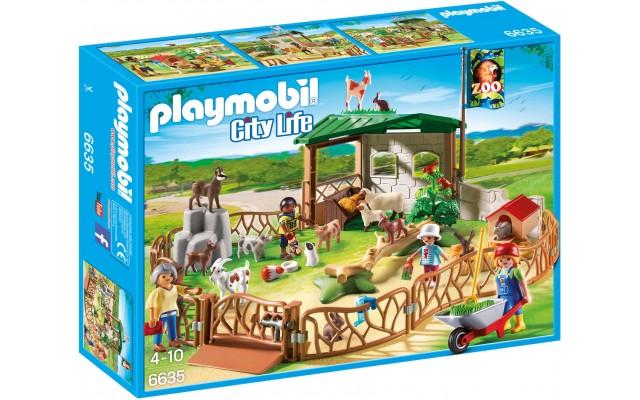 Playmobil 6635 - Детский зоопарк - конструктор Плеймобил City Life
