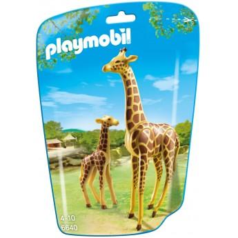 Playmobil 6640 - Жираф с детенышом - фигурки Плеймобил City Life