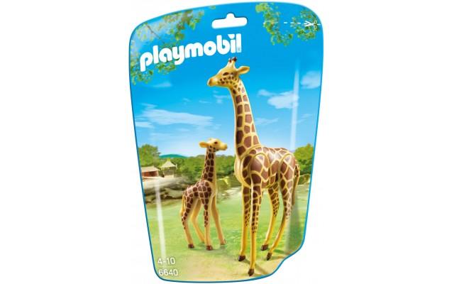 Playmobil 6640 - Жираф з дитинчам - фігурки Плеймобіл City Life
