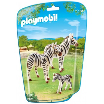 Playmobil 6641 - Семья Зебр - фигурки Плеймобил City Life