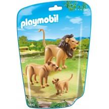 Playmobil 6642 - Семья Львов - фигурки Плеймобил City Life