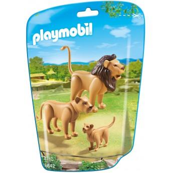 Playmobil 6642 - Сім'я Львів - фігурки Плеймобіл City Life