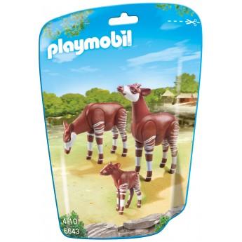 Playmobil 6643 - Семья Окапи - фигурки Плеймобил City Life