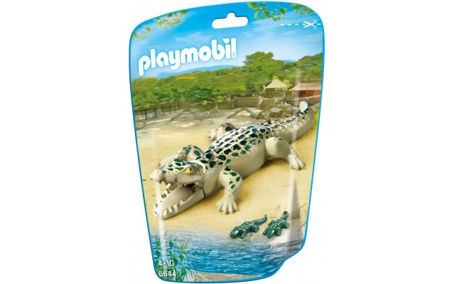 Playmobil 6644 - Алігатор з дитинчатами - фігурки Плеймобіл City Life