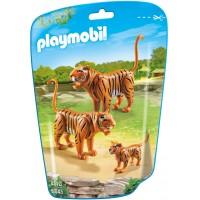 Playmobil 6645 - Сім'я Тигрів - фігурки Плеймобіл City Life