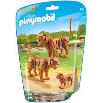 Playmobil 6645 - Семья Тигров - фигурки Плеймобил City Life