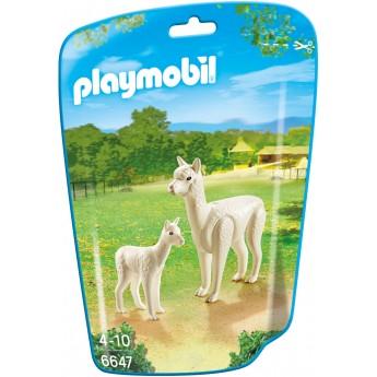 Playmobil 6647 - Альпака с детенышом - фигурки Плеймобил City Life