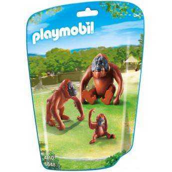 Playmobil 6648 - Семья Орангутангов - фигурки Плеймобил City Life