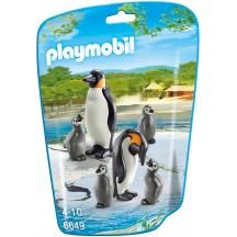 Playmobil 6649 - Семья Пингвинов - фигурки Плеймобил City Life