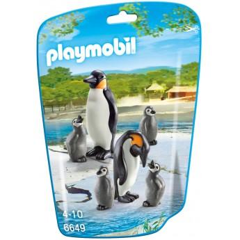 Playmobil 6649 - Сім'я Пінгвінів - фігурки Плеймобіл City Life