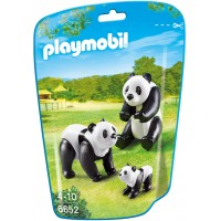 Playmobil 6652 - Семья панд - фигурки Плеймобил City Life