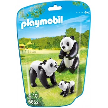 Playmobil 6652 - Сім'я панд - фігурки Плеймобіл City Life