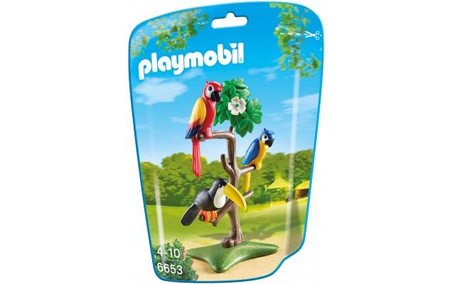 Playmobil 6653 - Тропические Птицы - фигурки Плеймобил City Life