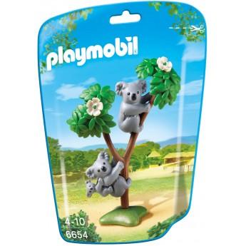Playmobil 6654 - Семья коал - фигурки Плеймобил City Life