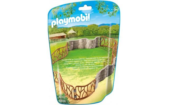 Playmobil 6656 Большой загон для животных зоопарка - игрушка Плеймобил