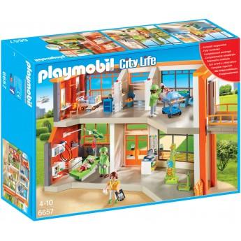 Playmobil 6657 - Дитяча лікарня - конструктор Плеймобіл City Life