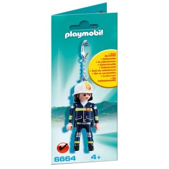 """Playmobil 6664 - Брелок """"Пожарный"""" - брелок Плеймобил Collectable"""