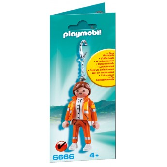 "Playmobil 6666 - Брелок ""Медик"" - брелок Плеймобил Collectable"