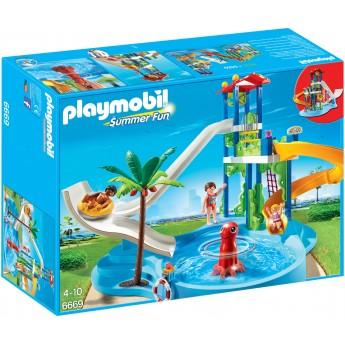 Playmobil 6669 – Аквапарк: Вежа з гірками - конструктор Плеймобіл FamilyFun