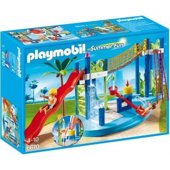 Playmobil 6670 - Аквапарк: Ігровий майданчик - конструктор Плеймобіл FamilyFun