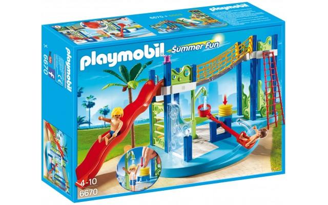 Playmobil 6670 - Аквапарк: Игровая площадка - конструктор Плеймобил FamilyFun