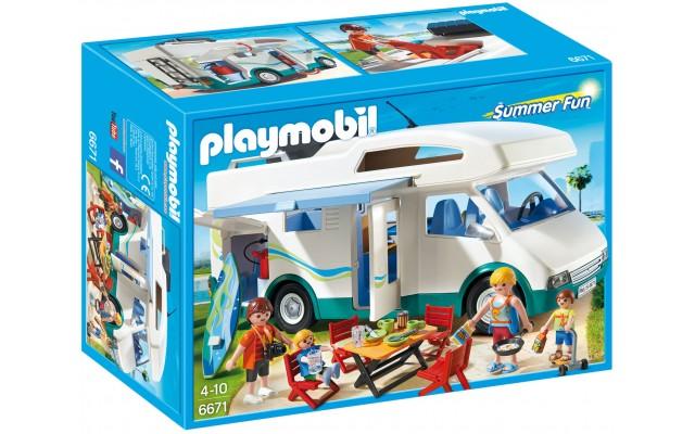 Playmobil 6671 - Сімейний автомобіль-будинок на колесах - ігровий набір Плеймобіл FamilyFun