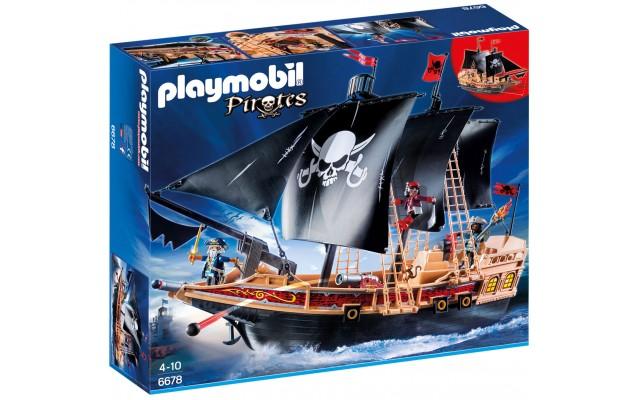 Playmobil 6678 - Піратський Бойовий Корабель - ігровий набір Плеймобіл Pirates