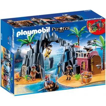 Playmobil 6679 Пиратский остров сокровищ - конструктор Плеймобил