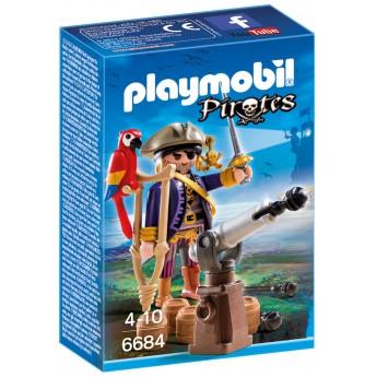 Playmobil 6684 - Пират-капитан - игровой набор Плеймобил Pirates