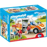 Playmobil 6685 - Скорая помощь со светом и звуком - машинка Плеймобил City Life