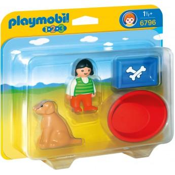 Playmobil 6796 Девочка с собачкой - игровой набор Плеймобил