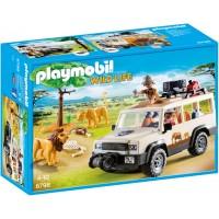 Playmobil 6798 - Сафарі-вантажівка з левами - ігровий набір Плеймобіл Wild Life