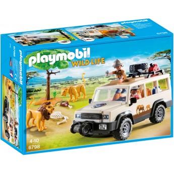 Playmobil 6798 - Сафари-грузовик со львами - игровой набор Плеймобил Wild Life