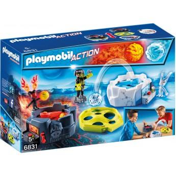 Playmobil 6831 Катапульты Огонь и Лед - игра Плеймобил