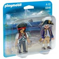 Playmobil 6846 - Пират и солдат - фигурки Плеймобил Pirates