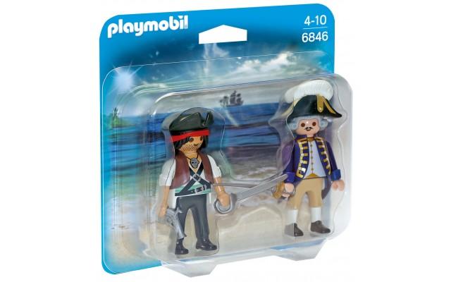 Playmobil 6846 - Пірат і солдат - фігурки Плеймобіл Pirates