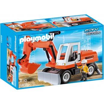 Playmobil 6860 - Экскаватор для щебня - машинка Плеймобил City Action