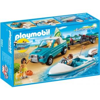 Playmobil 6864 - Пікап з човном і серфом - ігровий набір Плеймобіл FamilyFun