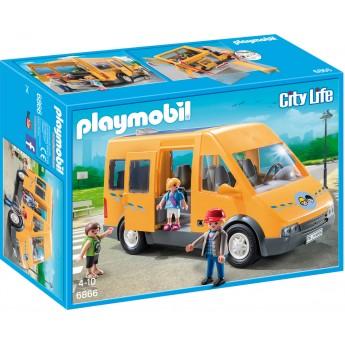 Playmobil 6866 Шкільний автобус - ігровий набір Плеймобіл