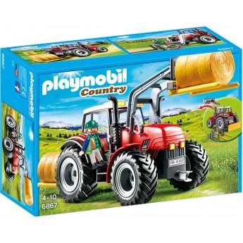 Playmobil 6867 Трактор с аксессуарами и водителем - игрушка Плеймобил
