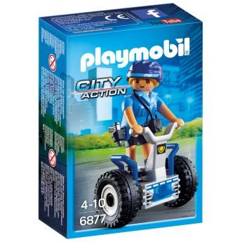 Playmobil 6877 Поліцейський на сігвеї - ігровий набір Плеймобіл