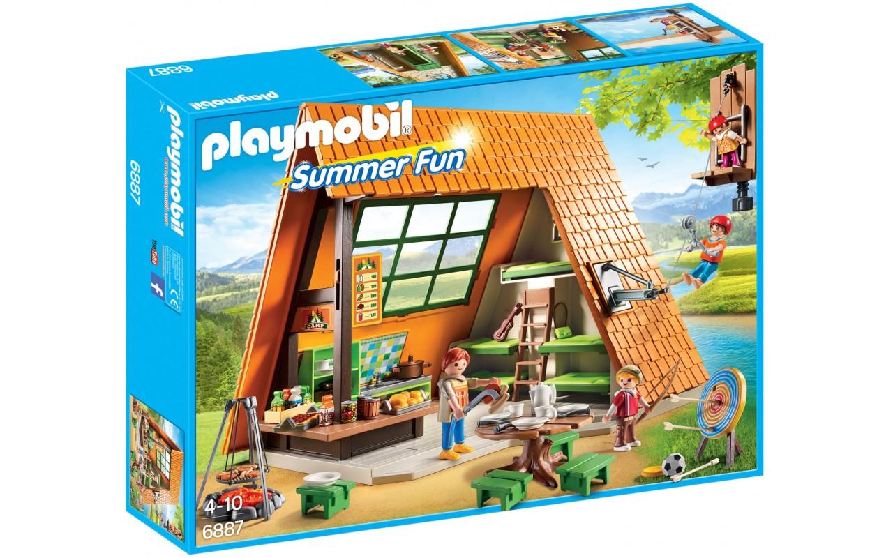 Playmobil 6887 - Домик для кемпинга - игровой набор Плеймобил FamilyFun
