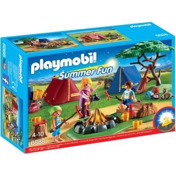 Playmobil 6888 - Кемпинг - игровой набор Плеймобил FamilyFun