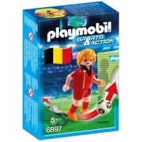 Playmobil 6897 Футболіст збірної Бельгії - фігурка Плеймобіл