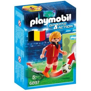 Playmobil 6897 Футболист сборной Бельгии - фигурка Плеймобил