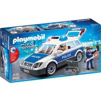Playmobil 6920 Поліцейська машина з мигалками і фігурками - машинка Плеймобіл